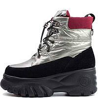Кросівки зимові Allshoes 102 N700 560014 Сірий, фото 1