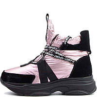 Кроссовки зимние Allshoes 6790-S 559841 Розовые, фото 1