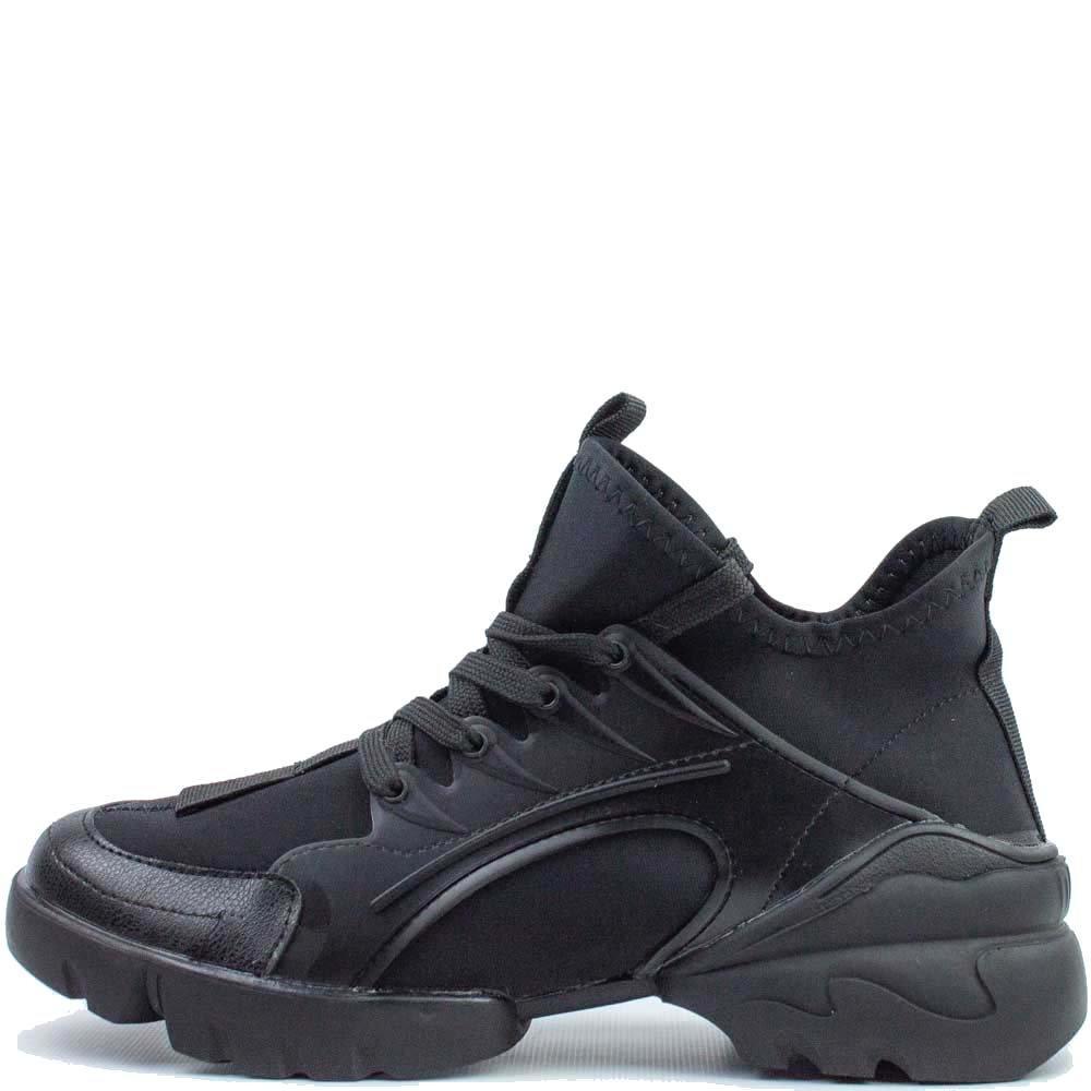 Стильні кросівки Чорні 578572