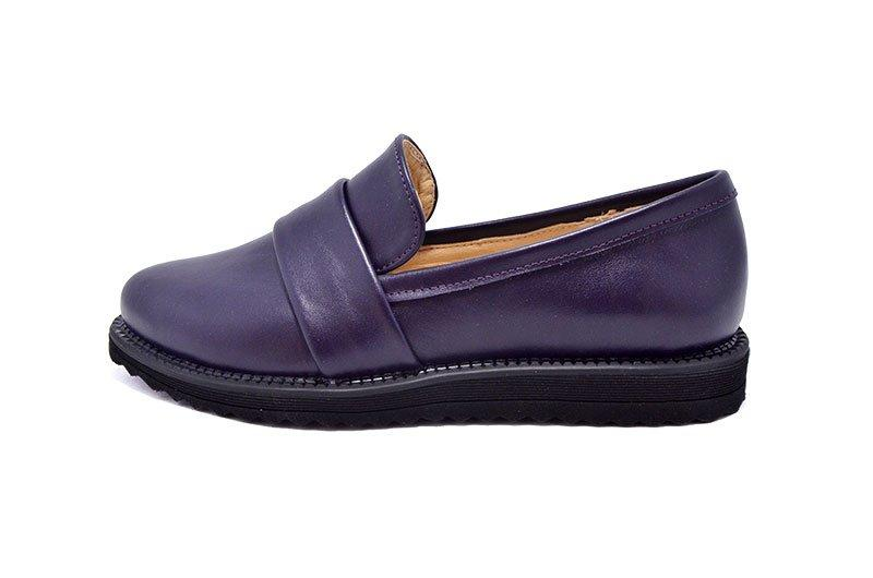 Лоферы женские Arcoboletto 122 N12G 555812 Eggplant