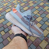 Кроссовки распродажа АКЦИЯ последние размеры 750 грн Yeezy Boost 350 коралловые 37й(23,5см) люкс копия, фото 5