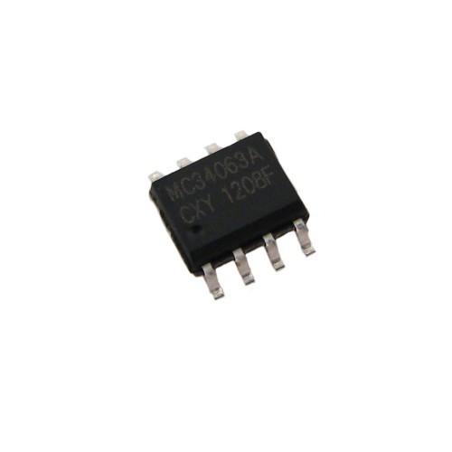 Чип MC34063A MC34063 SOP8, DC/DC преобразователь напряжения, 104408