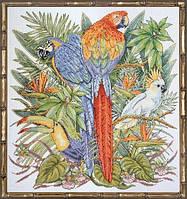 """Набор для вышивания крестом """"Райские птицы"""""""