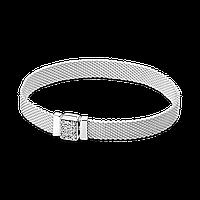 Жіночий Срібний браслет Pandora Reflexions з цирконієм 17, фото 1
