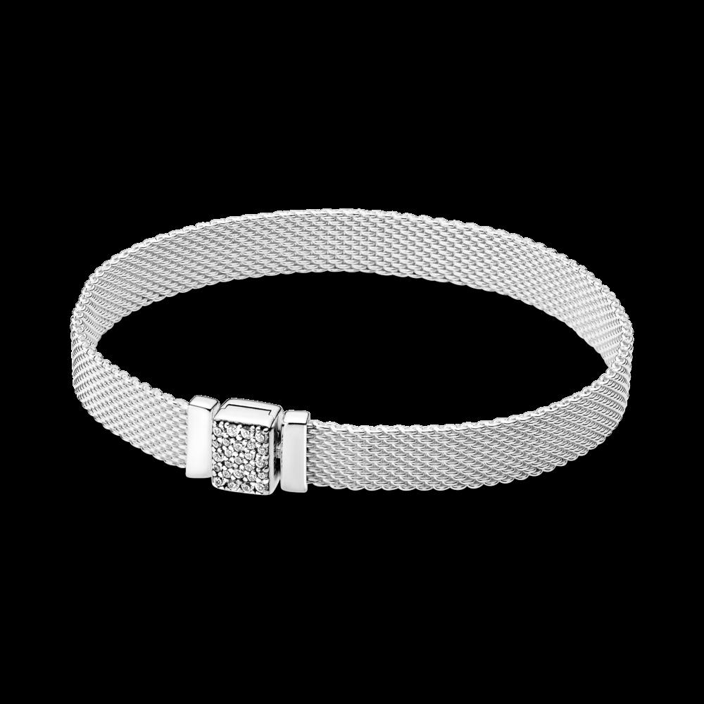 Жіночий Срібний браслет Pandora Reflexions з цирконієм 17