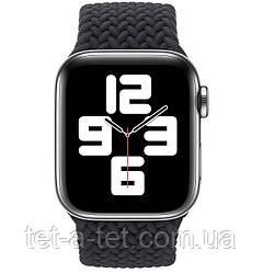 Ремінець (тканинний моно браслет) Braided Solo Loop для Apple Watch 42mm/44mm Charcoal Size 6 (144 mm)