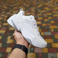 Жіночі кросівки Nike M2k Tekno White | Найк М2К Текно Білі, фото 1