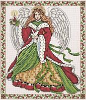 """Набор для вышивания крестом """"Рождественский ангел"""""""