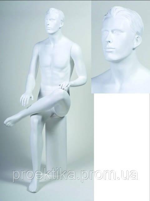 Манекен мужской белый