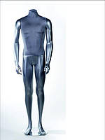 Манекен мужской оживленный (серебристый)