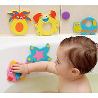 Набір Аква-пазли Kinderenok Bath'n Puzzles іграшки для купання у ванній 081113 Fixi