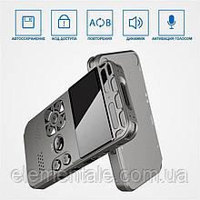 Диктофон цифровой профессиональный Hyundai E-188 8 Гб 80 часов записи SD 64 Гб VOX таймер MP3