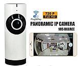 Панорамная беспроводная IP камера HLV FV-1201 настольная, фото 3