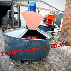 Растворомешалка (бетономешалка, змішувач, мешалка, бетоносмеситель) объемом 900 л., фото 3