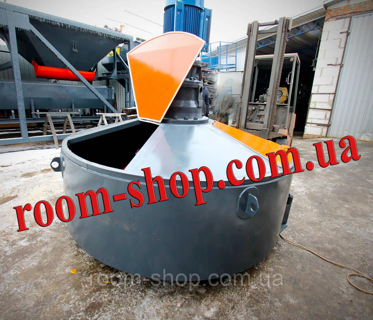 Растворомешалка (бетономішалка, змішувач, мішалка, бетонозмішувач) об'ємом 900 л.