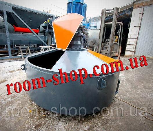 Растворомешалка (бетономешалка, змішувач, мешалка, бетоносмеситель) объемом 900 л., фото 2