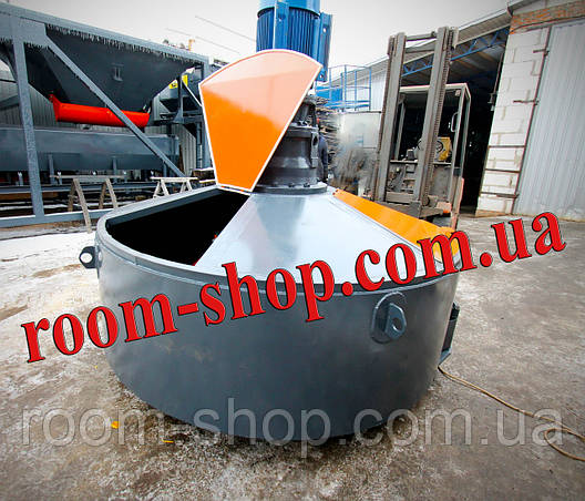 Растворомешалка (бетономішалка, змішувач, мішалка, бетонозмішувач) об'ємом 900 л., фото 2