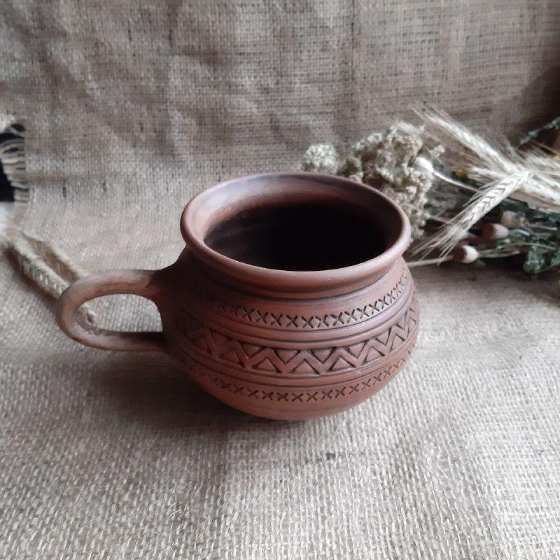 Глиняна Чашка 0.2 л для Горнятко кави