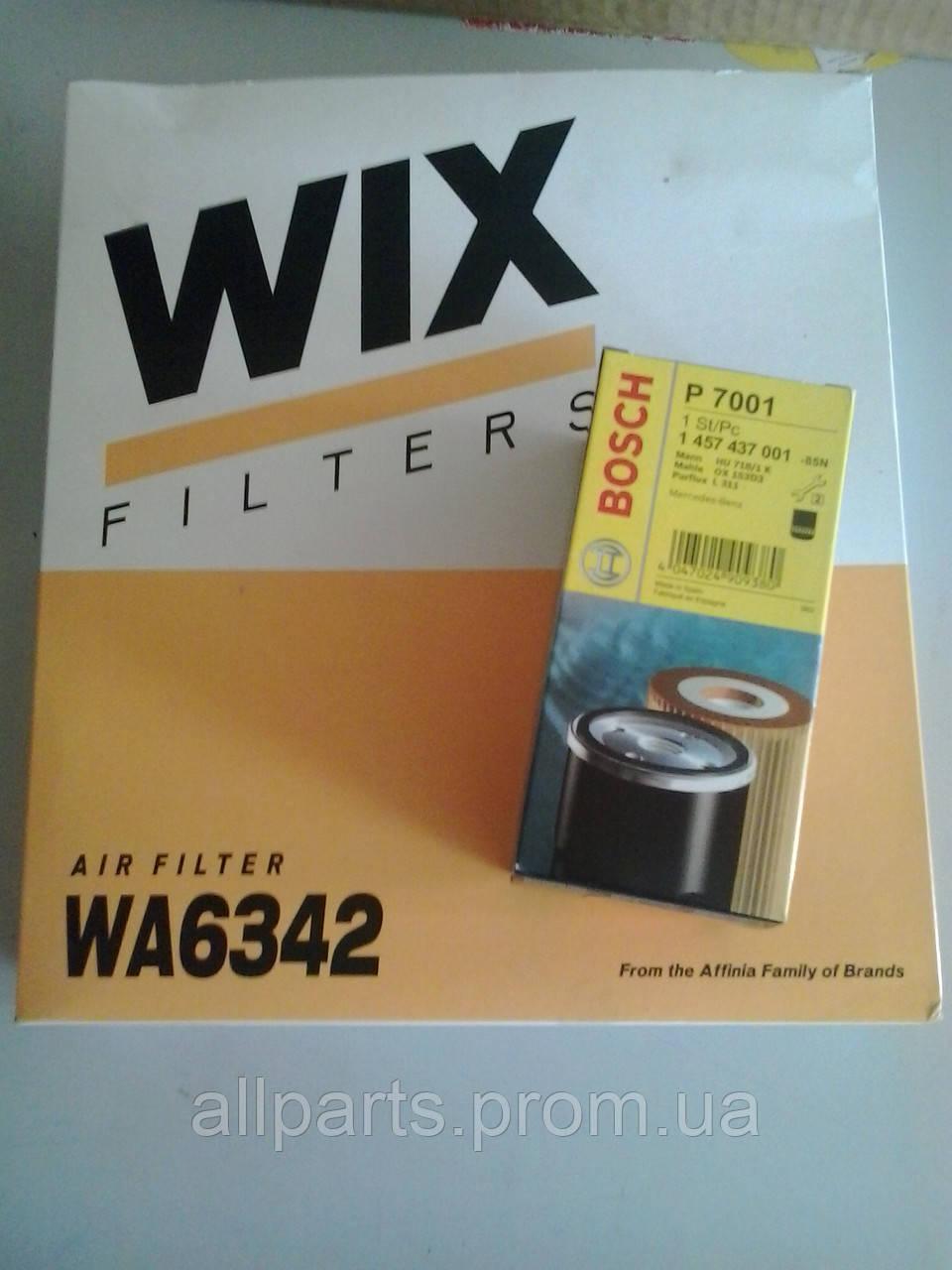 Воздушный фильтр Mercedes Sprinter / Vito производителя Wix Filters