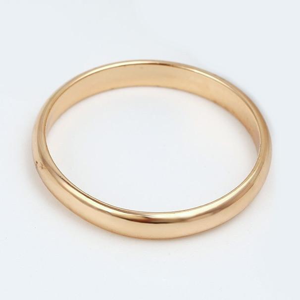 XUPING Кольцо обручальное 18к 3мм, Размер 18
