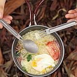 Столовий прибор NexTool Outdoor Spoon Fork KT5525, фото 3