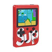 Портативна ретро консоль Retro Gamebox Sup 400 in 1 денді приставка ігрова 8 біт Червона (Game Box 400in1)