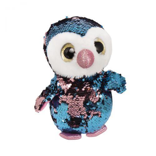 """М'яка іграшка """"Глазастик в паєтках, Пингвинчик"""" C37828"""