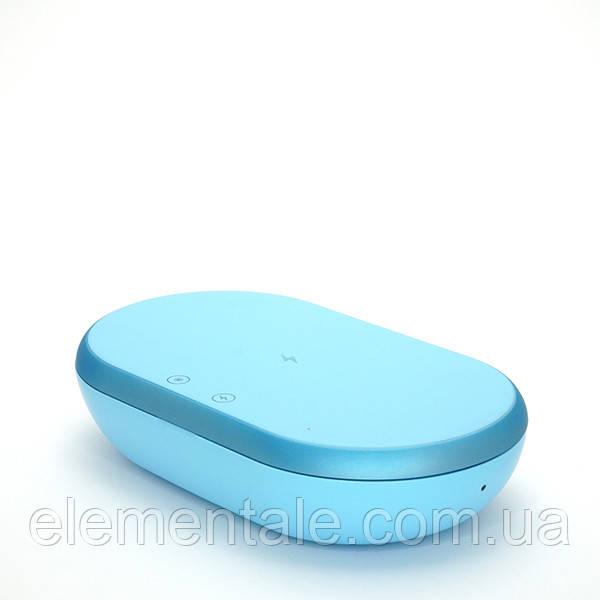 Портативный стерилизатор с функцией быстрой зарядки телефонов UV Голубой