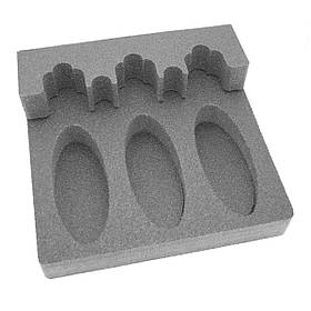 Комплект держатель ствола FD3 + ложемент под приклад DFD3 на три ствола (ружья)