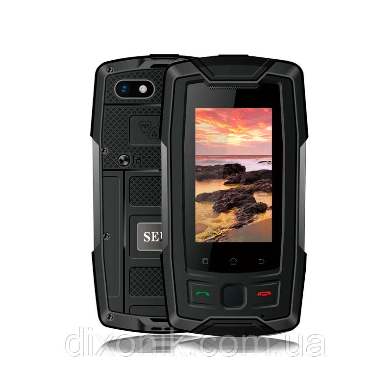 Смартфон Servo X7 Plus black IP68 NFC 2/16 Гб + стартовый пакет Sweet TV в подарок
