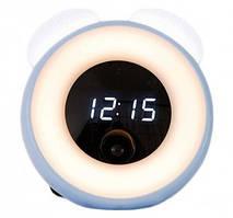 Годинник нічник Xiaomi OneFire Time Light Blue