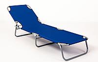 Раскладушка - шезлонг 188*56*28см Stenson MH-3086 Шезлонг для отдыха Раскладушка туристическая