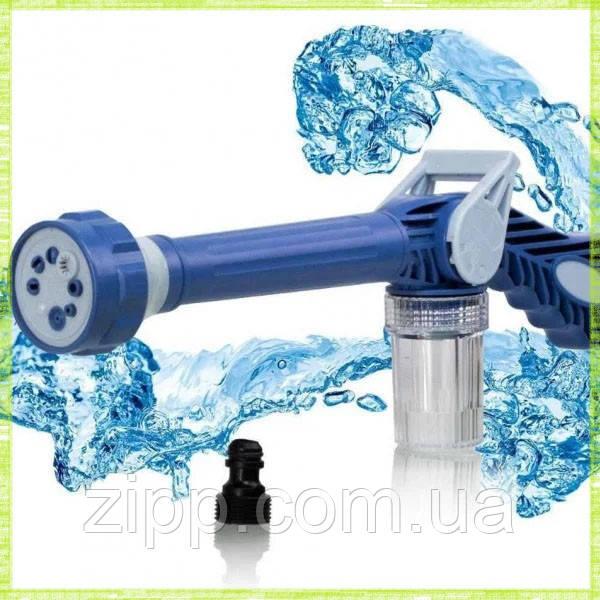 Насадка на шланг с распылителем моющих средств для мытья машины Ez Jet Water Cannon