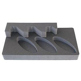 Комплект держатель ствола 3UGL + ложемент под приклад D3UGL на три ствола (ружья) под углом