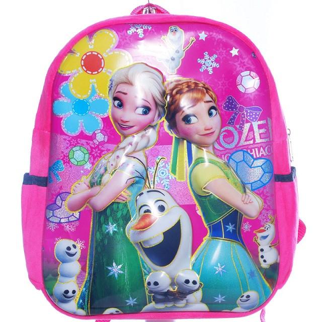 """Рюкзак дитячий для дівчинки """"Frozen""""Фрозен сестри Ганна і Ельза, 6D арт. 24748-91"""