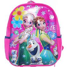 """Рюкзак детский для девочки для прогулок """"Frozen""""Фрозен сестры Анна и Эльза,  6D арт. 24748-91"""