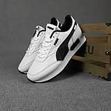 Жіночі кросівки в стилі Puma Future Rider білі з чорним, фото 4