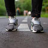Мужские кроссовки Adidas Equipment Support (grey/white) Реплика ААА, фото 3