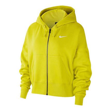 Толстовка жіноча Nike Wmns NSW Full Zip Fleece Trend CK1505-344, фото 2