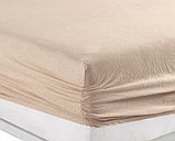 Простынь на резинке трикотажная 160×200 с наволочками 50х70 разные цвета Турция Kayra, фото 6