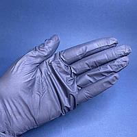 Рукавички чорні нітрилові VitLUX,100 шт, розмір M