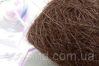 Сизаль натуральна (волокна сизалю) 100грам Колір - КОРИЧНЕВИЙ (сп7нг-5062)