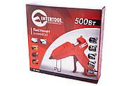 Пистолет клеевой Intertool - 500 Вт, 34 г/мин (RT-1013), фото 4