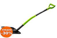 Лопата совковая Verto - ручка металл 1 шт.