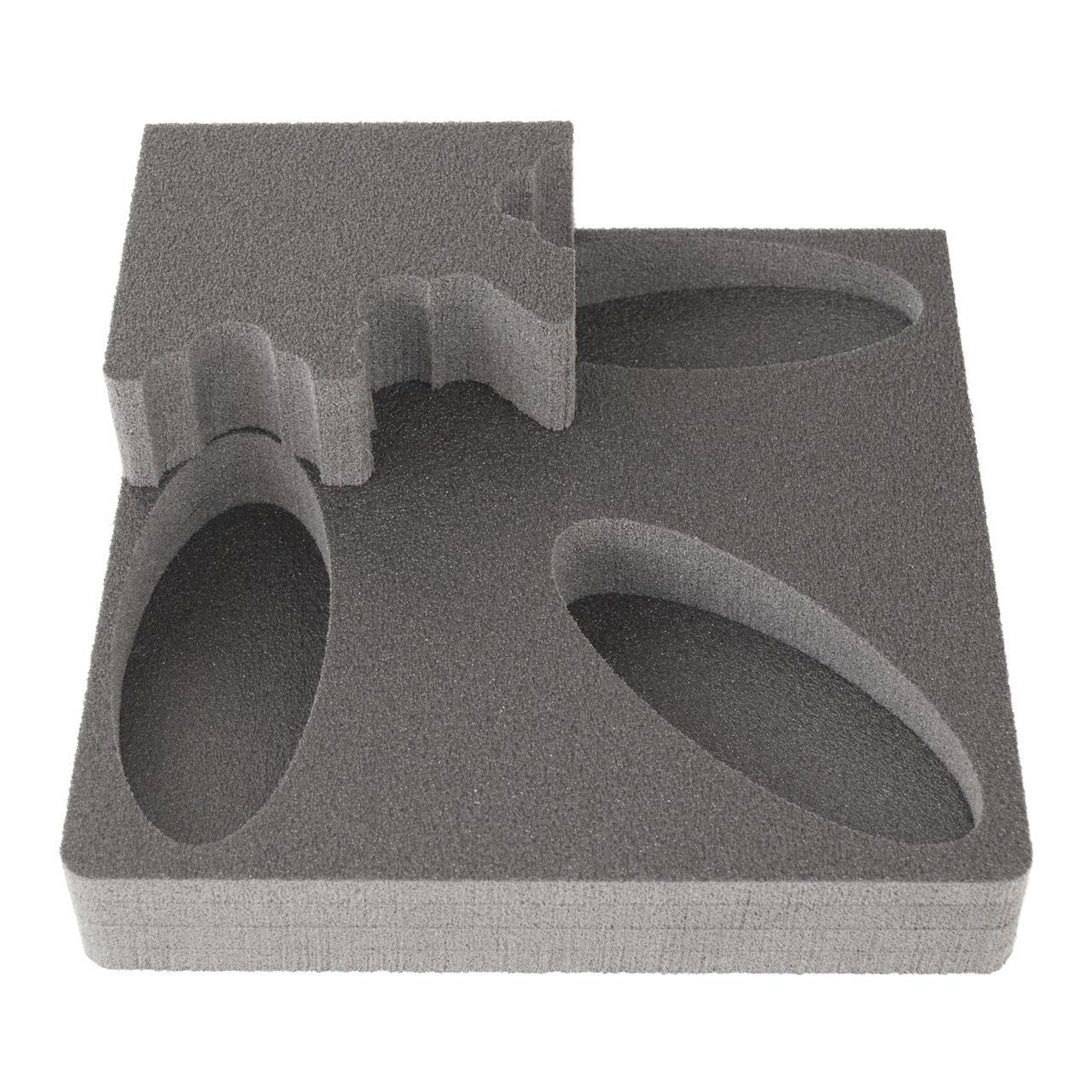 Комплект тримач ствола 1UGL_O + ложемент під приклад D1UGL_O на один ствол (рушницю) з оптикою під кутом