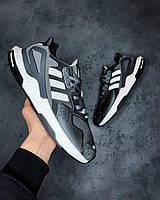 Чоловічі Кросівки Adidas EQT Dark Grey адідас еквіпмент, фото 1