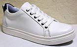 Кроссовки белые женские от производителя модель CА229-2, фото 2