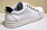 Кроссовки белые женские от производителя модель CА229-2, фото 4