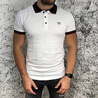 Givenchy Polo Contrasted Band And Stars Black/White
