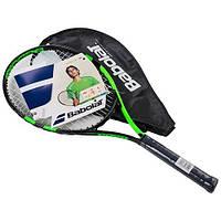 Ракетка для большого тенниса Babolat Pro зеленая, длина 25 дюйма